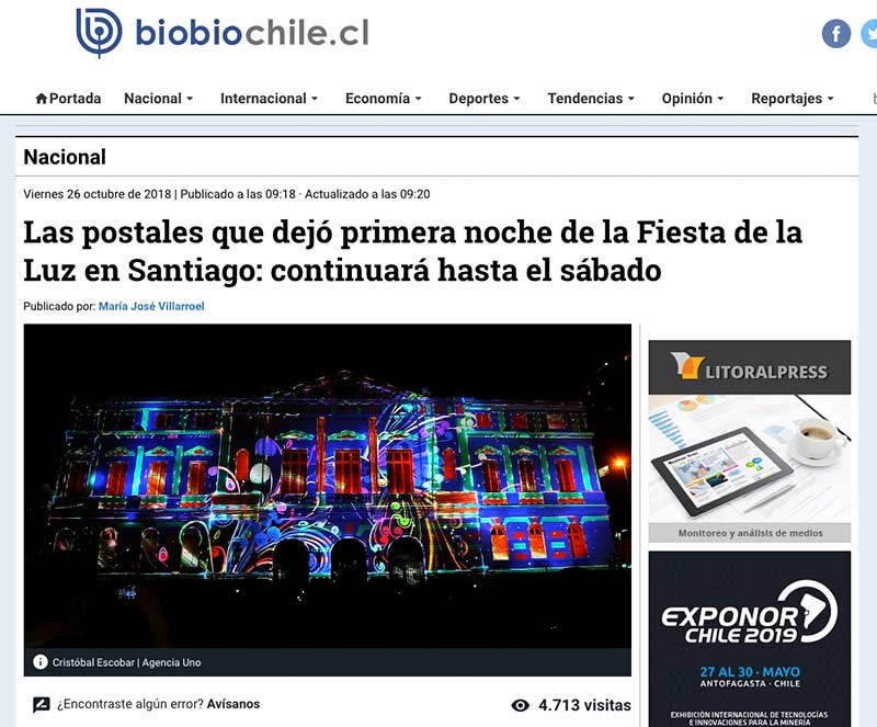 Noticia BioBio Chile